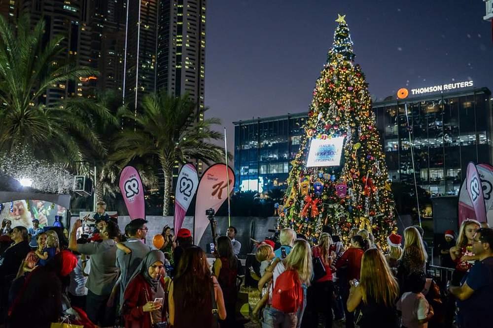 Weihnachten Dubai Veranstaltungen Einkaufen Essen Gehen