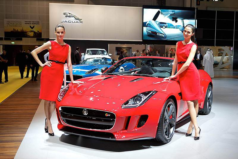 Dubai international motorshow